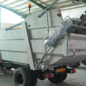 دستگاه جمع آوری و حمل مکانیزه زباله