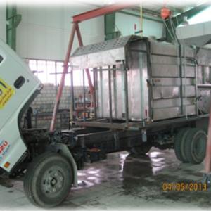 دستگاه شستشوی مخازن زباله